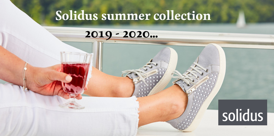 Solidus summer collection 2019 - 2020 - Kaja sneakers