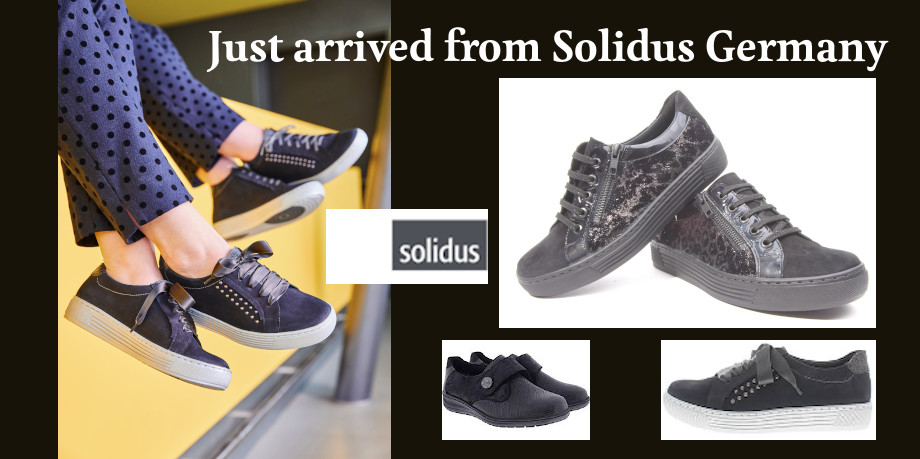 Solidus shoes at Comfoot Footwear for winter 2019