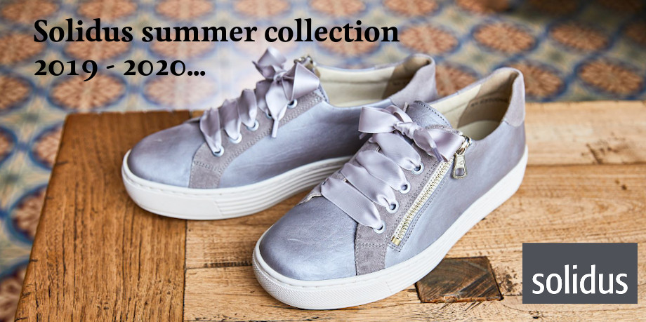 Solidus summer collection 2019 - 2020 - Kaja grey sneakers