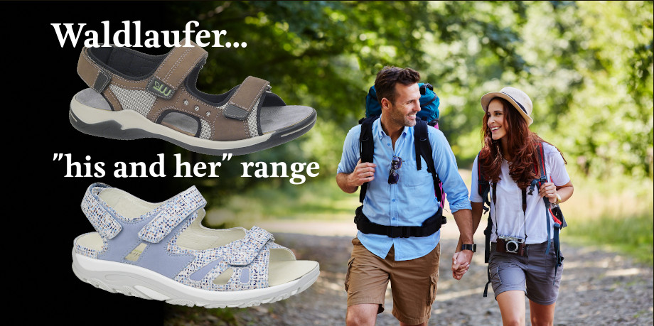 Waldlaufer summer footwear collection 2019
